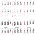 Calendar -  2015 year — Stock Photo #66722063