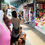 Chatuchak weekend market, Bangkok — Stock Photo #67085883