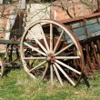 Old seeder. Agricultural machinery — Stock Photo #61762117