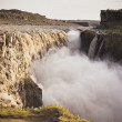 Dettifoss Waterfall in Iceland at overcast weather — Stock Photo #59268301