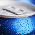 Wet aluminium can — Stockfoto #58949649