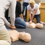 First aid CPR seminar. — Stock Photo #56625889