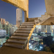 Staircase of an old dilapidated building in Kuwait City — Stock Photo #62395141