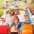 Family going on vacation — Stock Photo #71877353