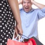 Shopping madness — Stock Photo #62208825