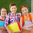 Small group of school friends — Stock Photo #53801885