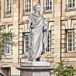 Stuttgart Germany - Schiller monument — Stock Photo #64830943