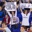 Real Madrid fans — Stock Photo #56949239