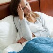 Woman having a cold — Stock Photo #57551971