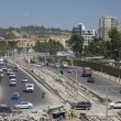 Low aerial view of Addis Ababa traffic — Stock Photo #63083015