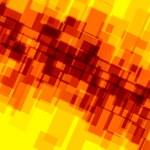 Abstract Background for Design Artworks - Orange Yellow Mosaic - Creative Digital Artwork - Random Spread Irregular Shapes - Blocks Tiles and Squares - Deco Art - For Stylish Business Presentation - — Stock Photo #65302819