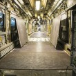 Realization inner part of a railway car — Stock Photo #60850427