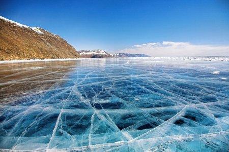 冬天贝加尔湖