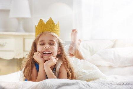 在金王冠的女王