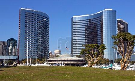 在 San Diego 酒店万豪酒店