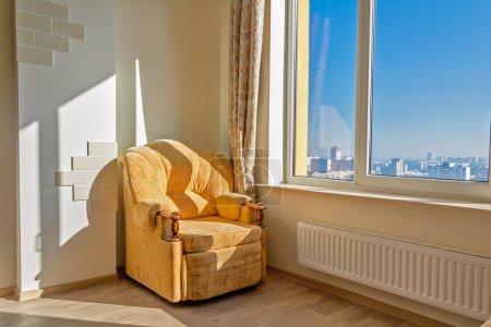 查看从摩天大楼的窗口