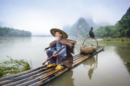 中国 Cormornat 渔夫