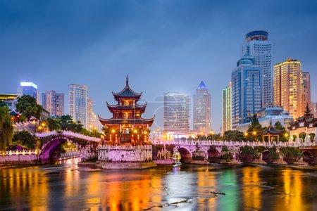 Guiyang, China City Skyline