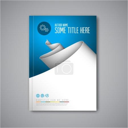 Modern Vector brochure design template