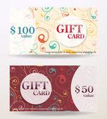 礼品卡设计与价值