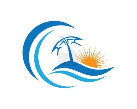 Beauty Wave Logo Template