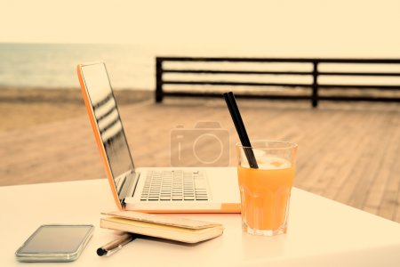 useful digital devices warm filter applied