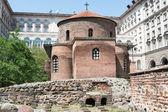 古老的教堂,在索非亚,保加利亚圣乔治大教堂