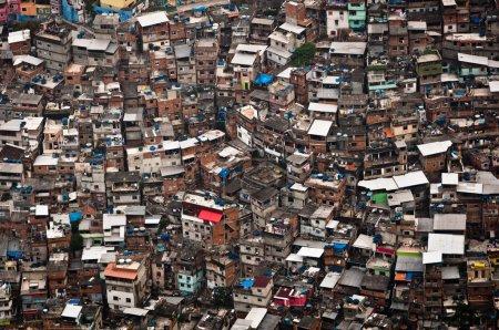 大的贫民区 Rocinha 贫民窟