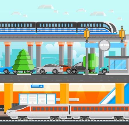 Subway Underground Design Concept
