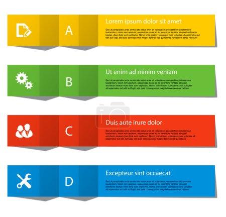 设置图表中的元素的纸带为目的的各种形式