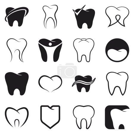 牙齿,牙齿矢量图标