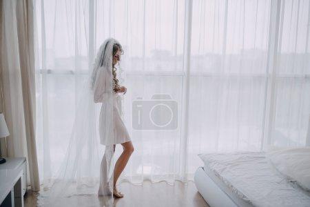 清晨里的新娘