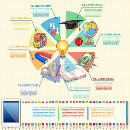 在线教育信息图形关系图的学校工具